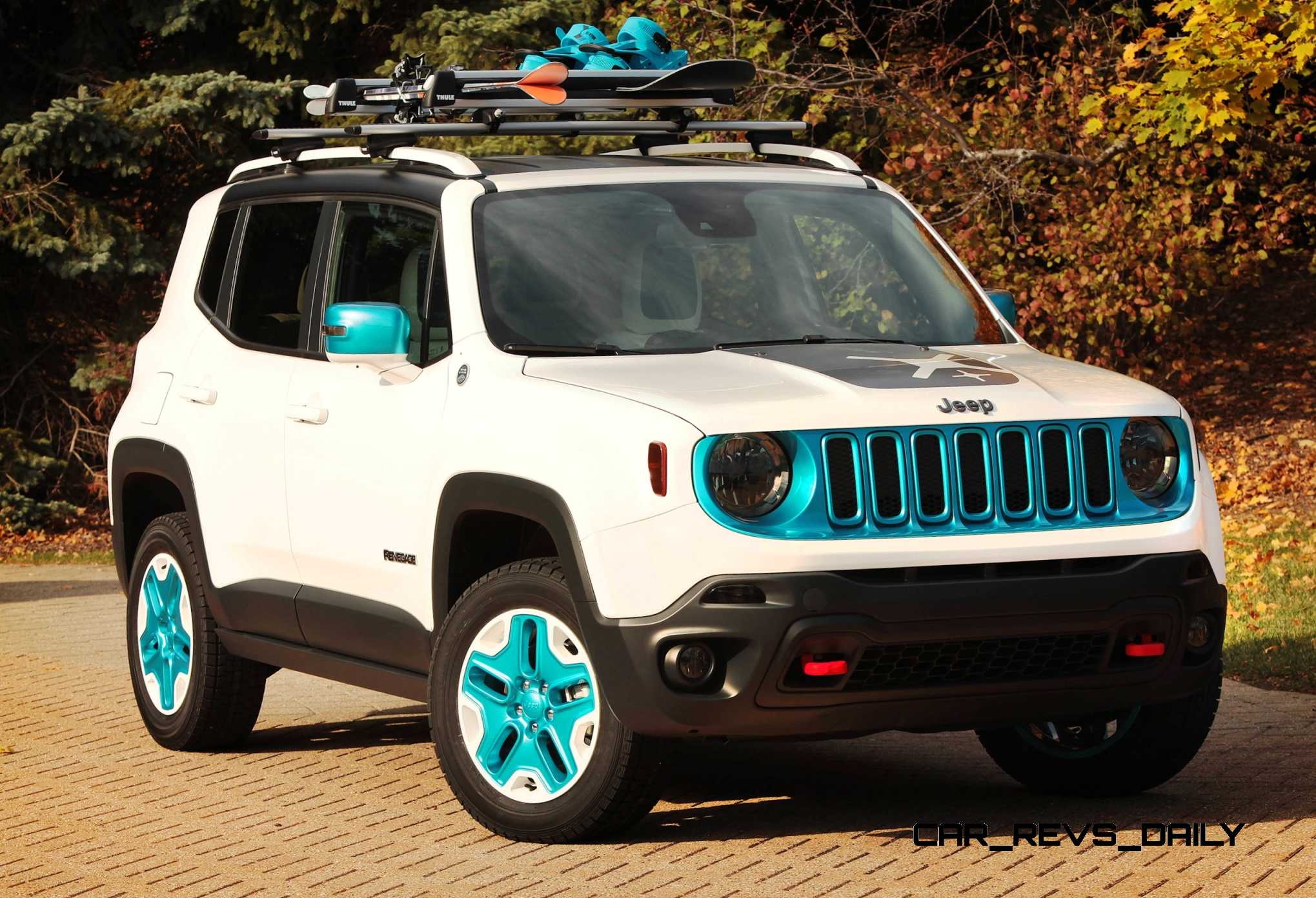 Mopar Rolling Deep Into Sema With A Dozen Custom Chryslers Dodges Fiats And Jeeps