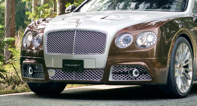 Mansory Bentley Flying Spur versus Mansory Rolls-Royce Wraith 1