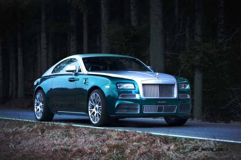 Mansory Bentley Flying Spur versus Mansory Rolls-Royce Wraith 10