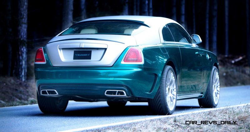 Mansory Bentley Flying Spur versus Mansory Rolls-Royce Wraith 12