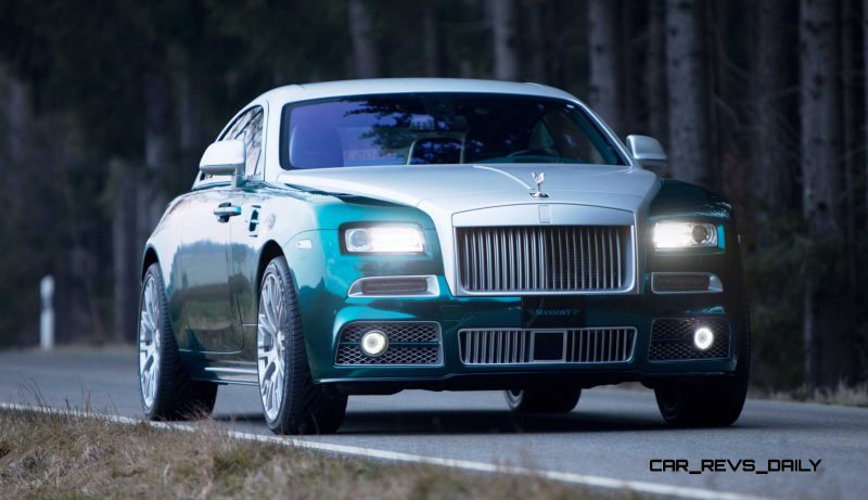 Mansory Bentley Flying Spur versus Mansory Rolls-Royce Wraith 14