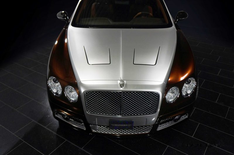 Mansory Bentley Flying Spur versus Mansory Rolls-Royce Wraith 15