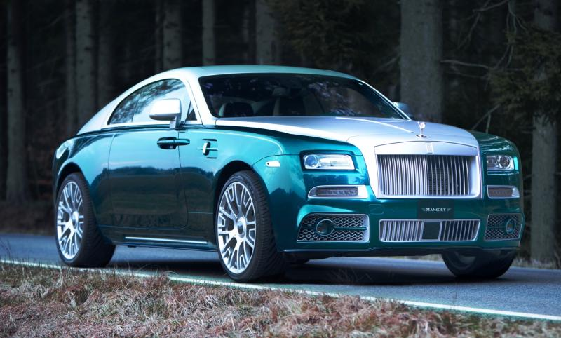 Mansory Bentley Flying Spur versus Mansory Rolls-Royce Wraith 16
