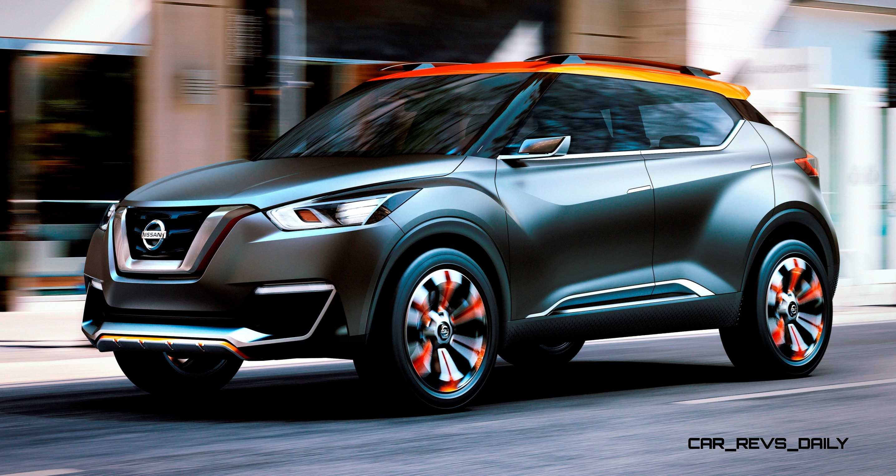 New Lexus Suv >> 2014 Nissan Kicks Concept Is New Sao Paolo Off-Road Crossover
