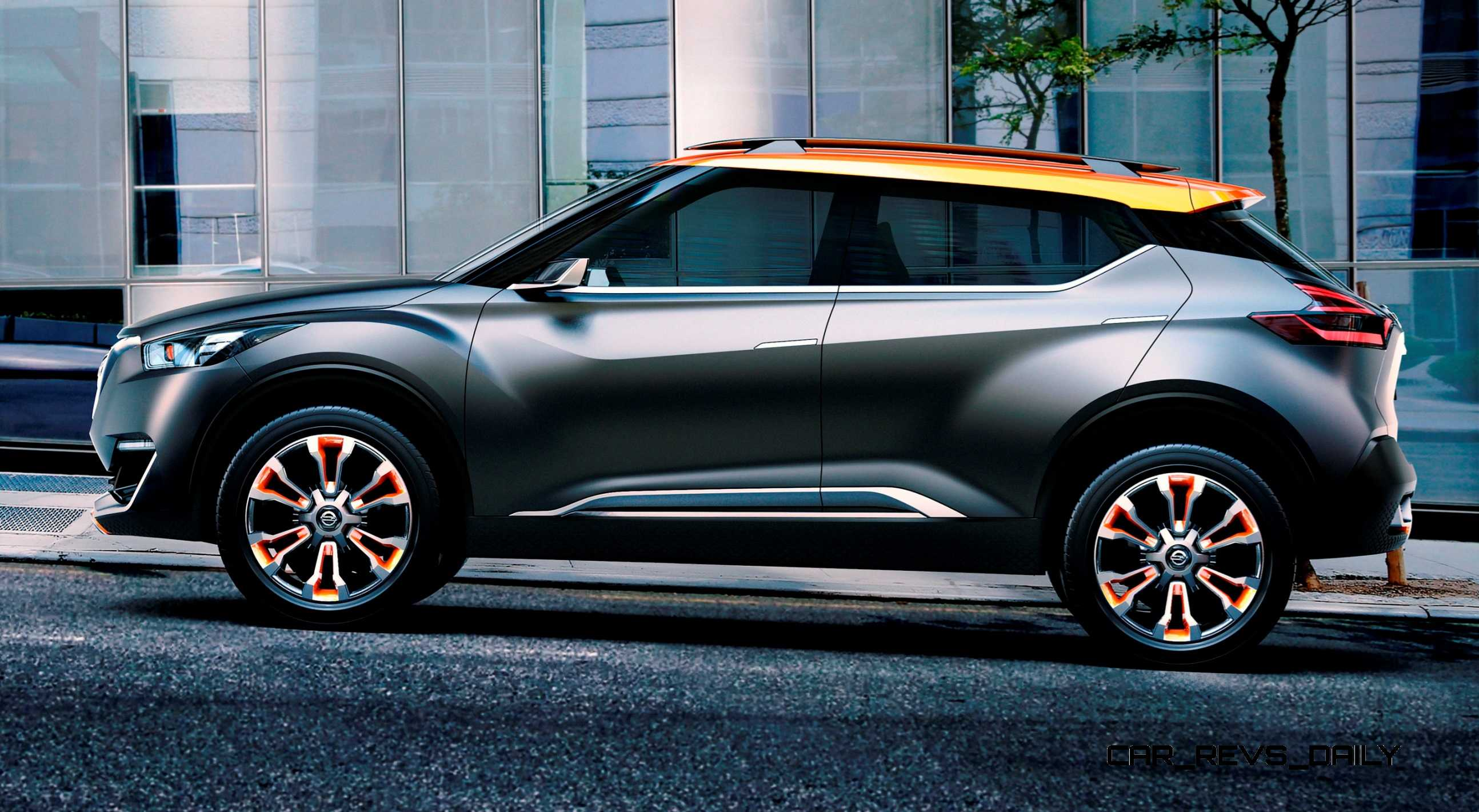 Off Road Design >> 2014 Nissan Kicks Concept Is New Sao Paolo Off-Road Crossover