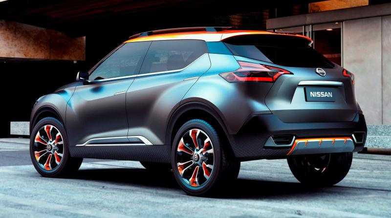 Xterra Off Road >> 2014 Nissan Kicks Concept Is New Sao Paolo Off-Road Crossover