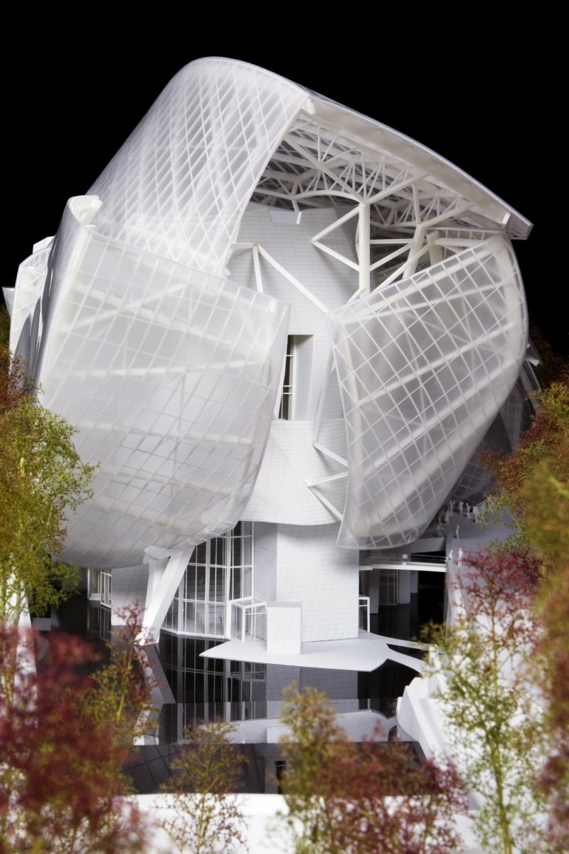 New Paris Art Museum from LVMH's Arnaud Shows Progress in Gehry Design Aesthetic 37