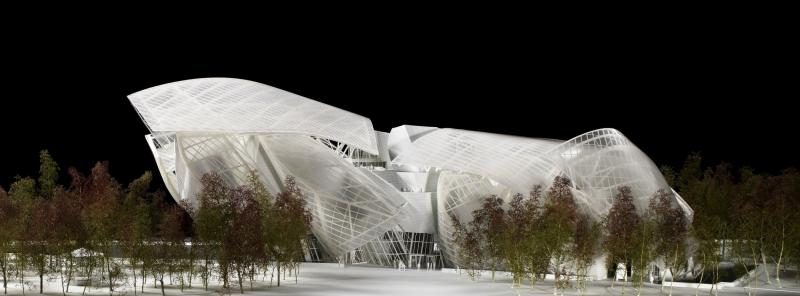 New Paris Art Museum from LVMH's Arnaud Shows Progress in Gehry Design Aesthetic 38
