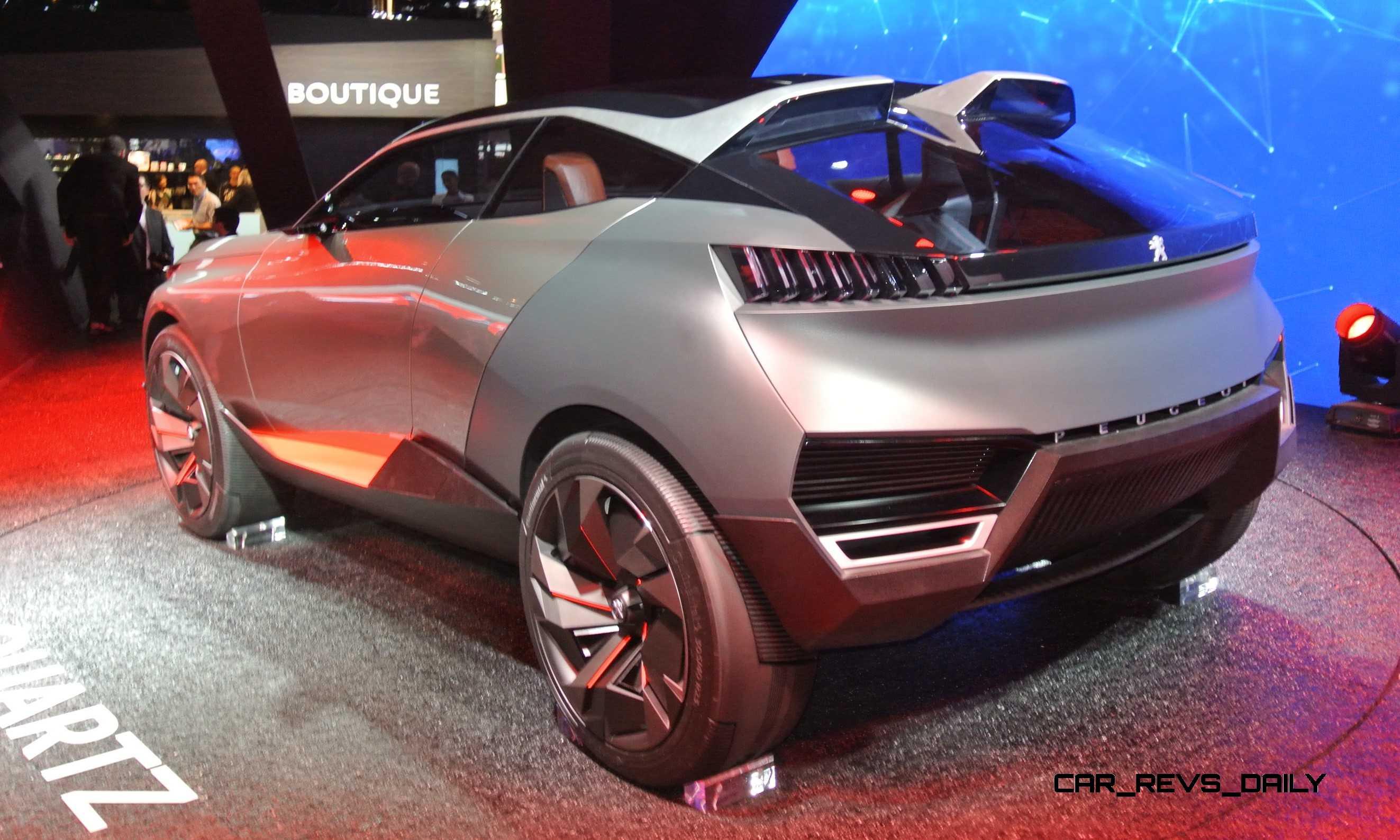 2014 Peugeot Quartz and DKR Prototype Top Paris Concept ...