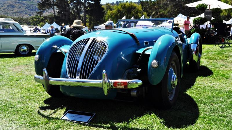 Quail Classics - 1950 Healey Silverstone Roadster Is Race-Optimized Aerolithe 4