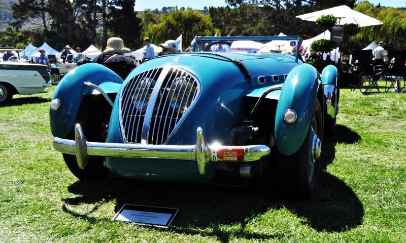 Quail Classics - 1950 Healey Silverstone Roadster Is Race-Optimized Aerolithe 5