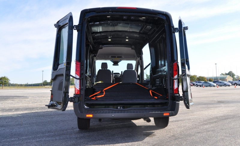Road Test Review - 2015 Ford Transit 3.5L EcoBoost LWB, Low-Roof Cargo Van 10