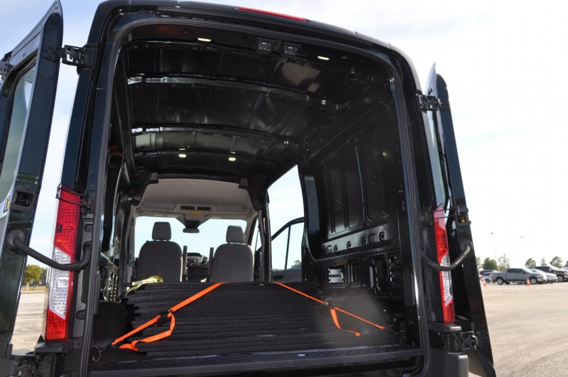 Road Test Review - 2015 Ford Transit 3.5L EcoBoost LWB, Low-Roof Cargo Van 11