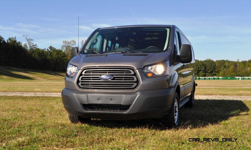 Road Test Review - 2015 Ford Transit 3.5L EcoBoost LWB, Low-Roof Cargo Van 14