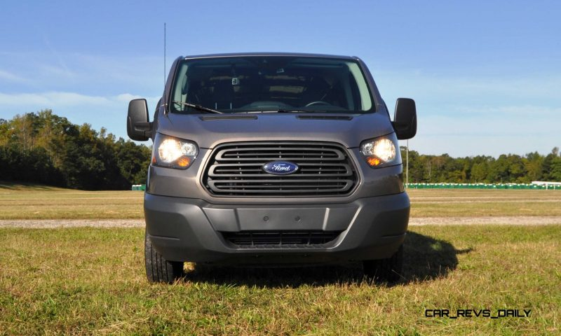 Road Test Review - 2015 Ford Transit 3.5L EcoBoost LWB, Low-Roof Cargo Van 15