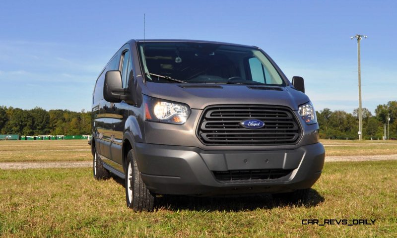 Road Test Review - 2015 Ford Transit 3.5L EcoBoost LWB, Low-Roof Cargo Van 16