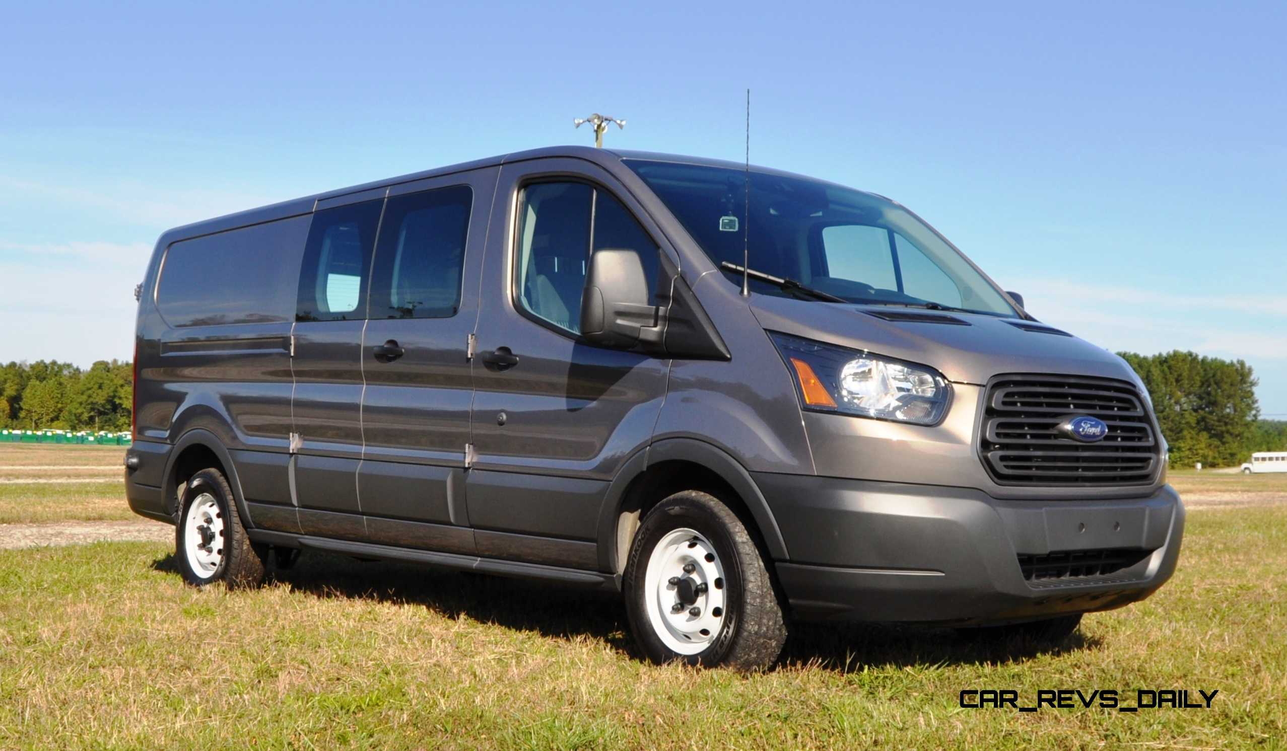 4K Road Test Review - 2015 Ford Transit 3.5L EcoBoost LWB, Low-Roof ...