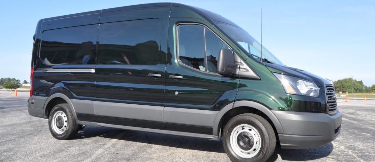 road test review 2015 ford transit 3 5l ecoboost lwb low roof cargo van 2. Black Bedroom Furniture Sets. Home Design Ideas