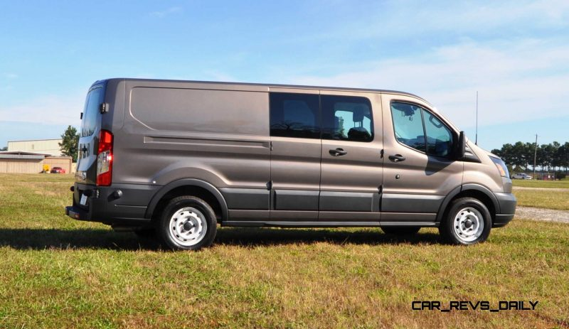 Road Test Review - 2015 Ford Transit 3.5L EcoBoost LWB, Low-Roof Cargo Van 20