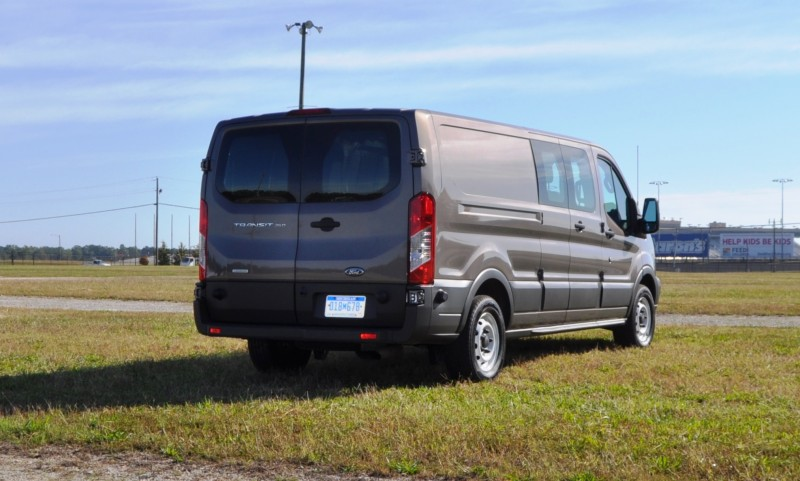Road Test Review - 2015 Ford Transit 3.5L EcoBoost LWB, Low-Roof Cargo Van 22