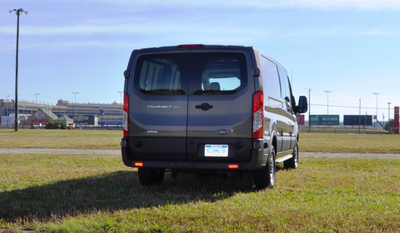 Road Test Review - 2015 Ford Transit 3.5L EcoBoost LWB, Low-Roof Cargo Van 23