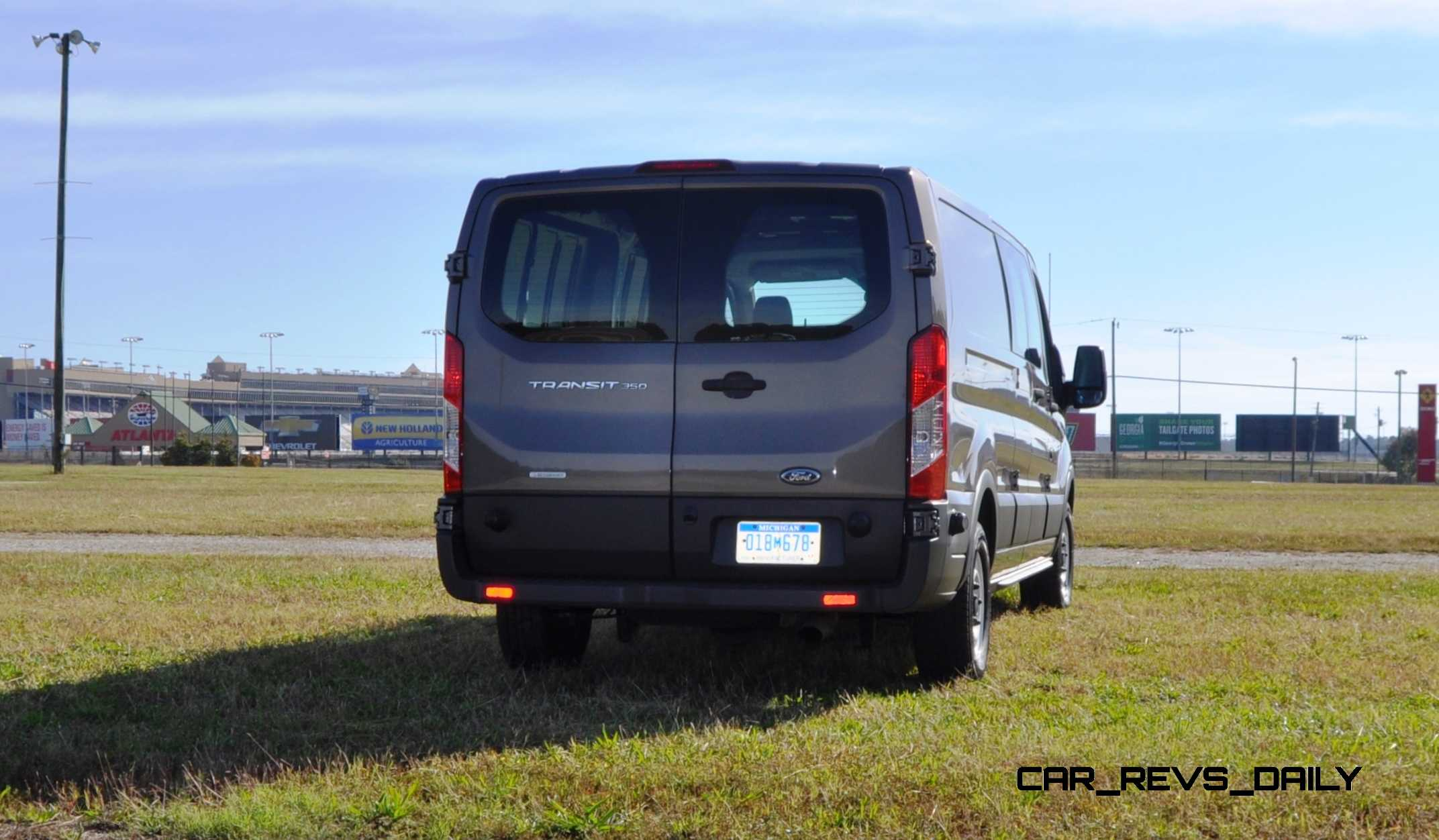 4K Road Test Review - 2015 Ford Transit 3.5L EcoBoost LWB ...