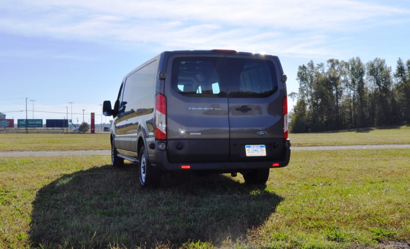 Road Test Review - 2015 Ford Transit 3.5L EcoBoost LWB, Low-Roof Cargo Van 24