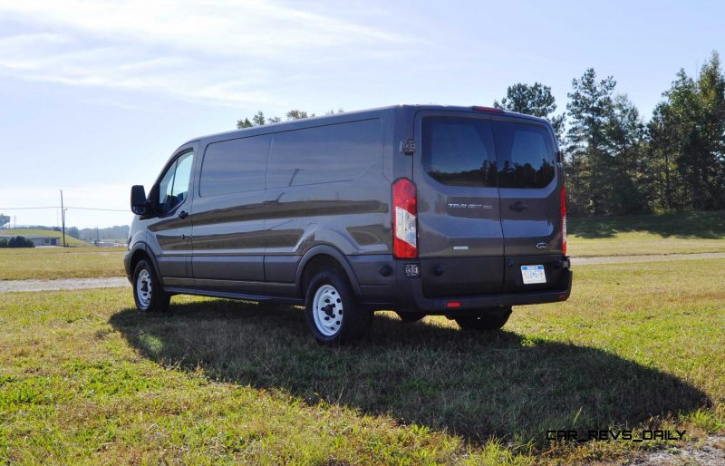 Road Test Review - 2015 Ford Transit 3.5L EcoBoost LWB, Low-Roof Cargo Van 25