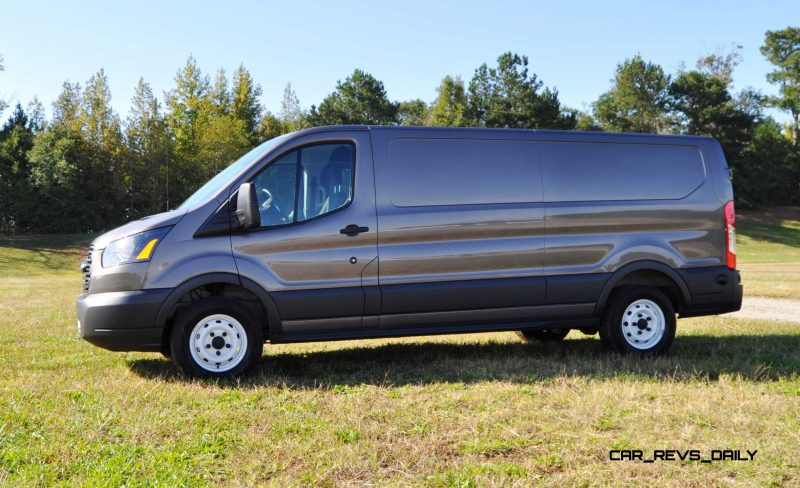 Road Test Review - 2015 Ford Transit 3.5L EcoBoost LWB, Low-Roof Cargo Van 26