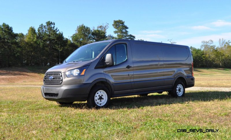 Road Test Review - 2015 Ford Transit 3.5L EcoBoost LWB, Low-Roof Cargo Van 27