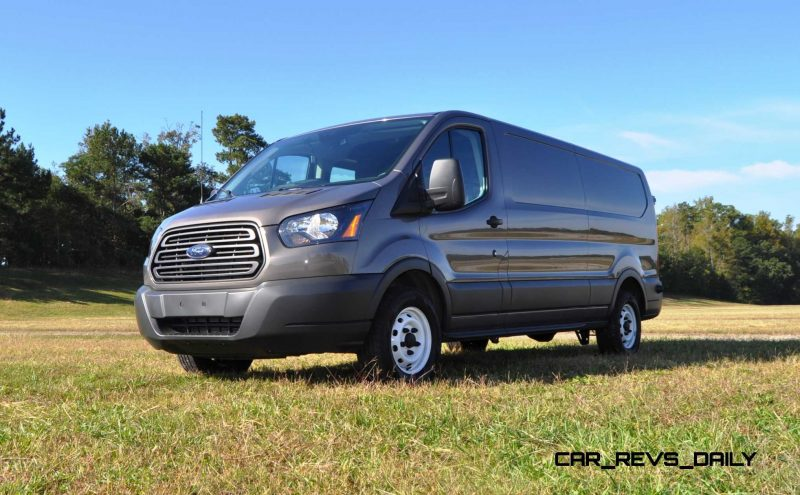 Road Test Review - 2015 Ford Transit 3.5L EcoBoost LWB, Low-Roof Cargo Van 28