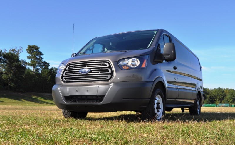 Road Test Review - 2015 Ford Transit 3.5L EcoBoost LWB, Low-Roof Cargo Van 29