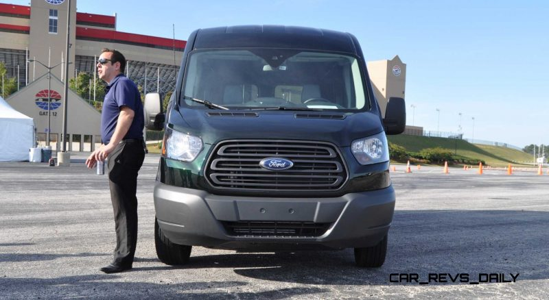 Road Test Review - 2015 Ford Transit 3.5L EcoBoost LWB, Low-Roof Cargo Van 3