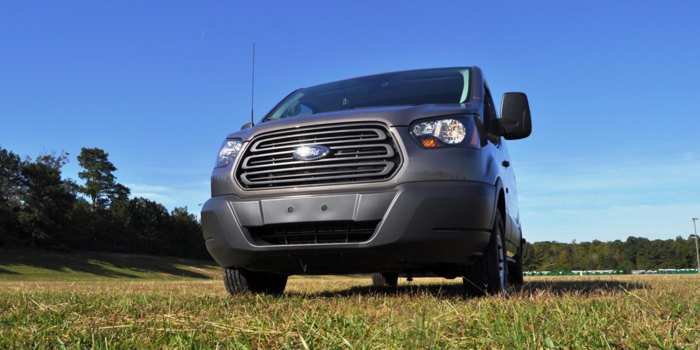 road test review 2015 ford transit 3 5l ecoboost lwb low roof cargo van 30. Black Bedroom Furniture Sets. Home Design Ideas