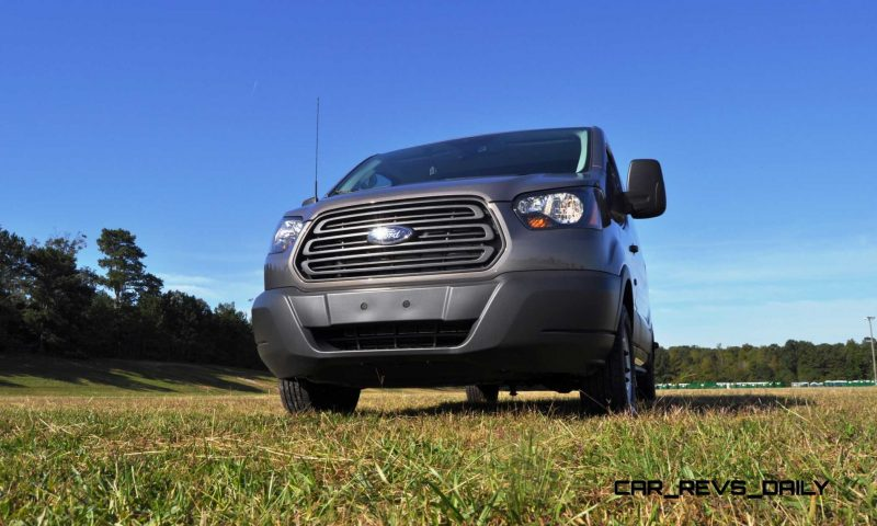 Road Test Review - 2015 Ford Transit 3.5L EcoBoost LWB, Low-Roof Cargo Van 30