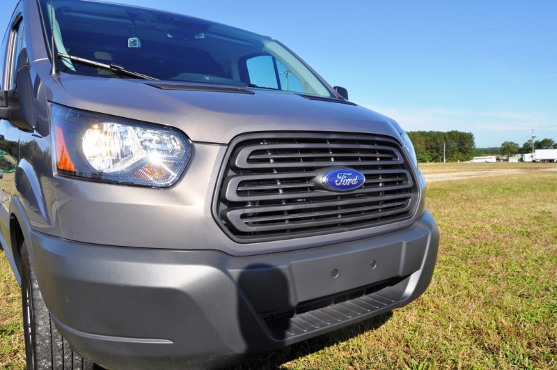 Road Test Review - 2015 Ford Transit 3.5L EcoBoost LWB, Low-Roof Cargo Van 32