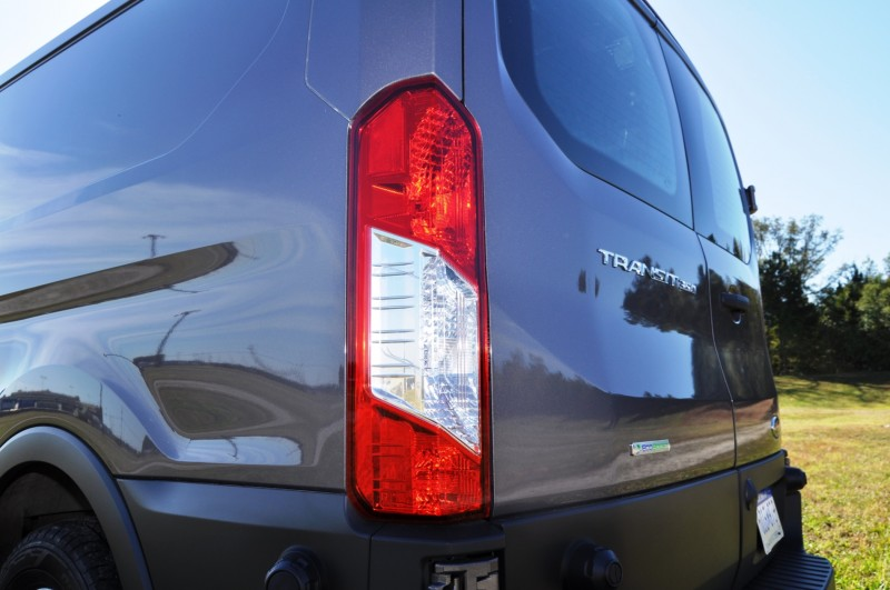 Road Test Review - 2015 Ford Transit 3.5L EcoBoost LWB, Low-Roof Cargo Van 34