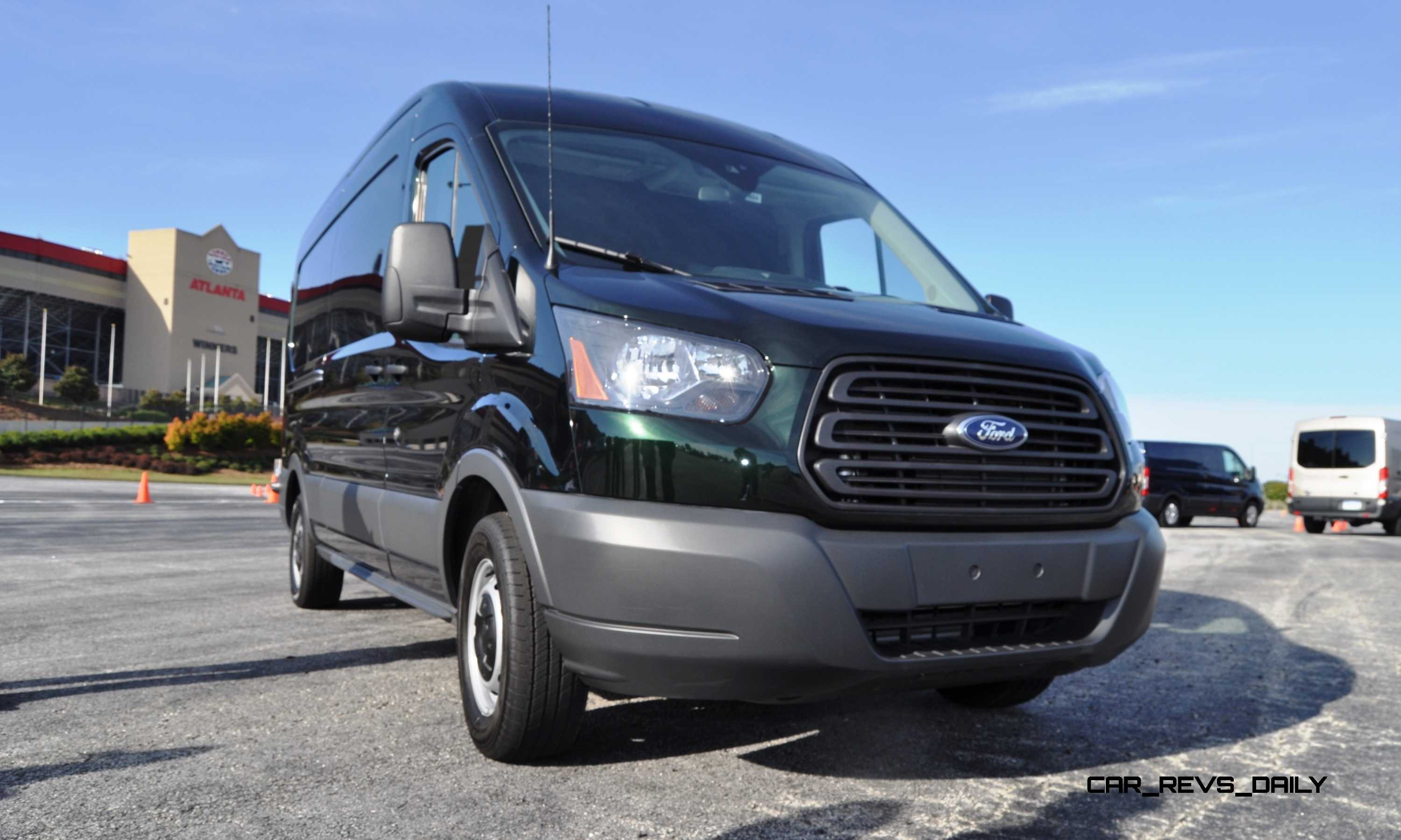 4k road test review 2015 ford transit 3 5l ecoboost lwb low roof cargo van road test review. Black Bedroom Furniture Sets. Home Design Ideas