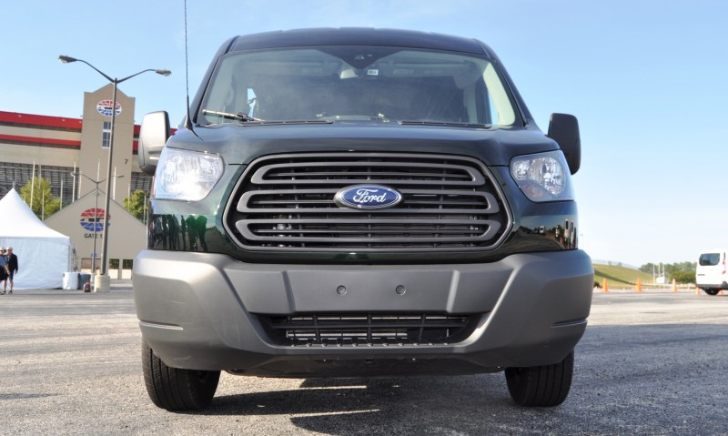 Road Test Review - 2015 Ford Transit 3.5L EcoBoost LWB, Low-Roof Cargo Van 5
