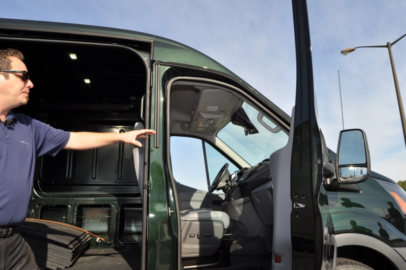 Road Test Review - 2015 Ford Transit 3.5L EcoBoost LWB, Low-Roof Cargo Van 8