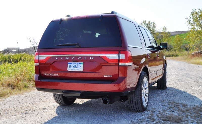 Road Test Review - 2015 Lincoln Navigator Is Totally Transformed By MR Shocks and EcoBoost 10