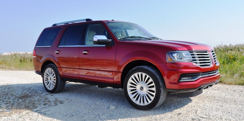 Road Test Review - 2015 Lincoln Navigator Is Totally Transformed By MR Shocks and EcoBoost 13
