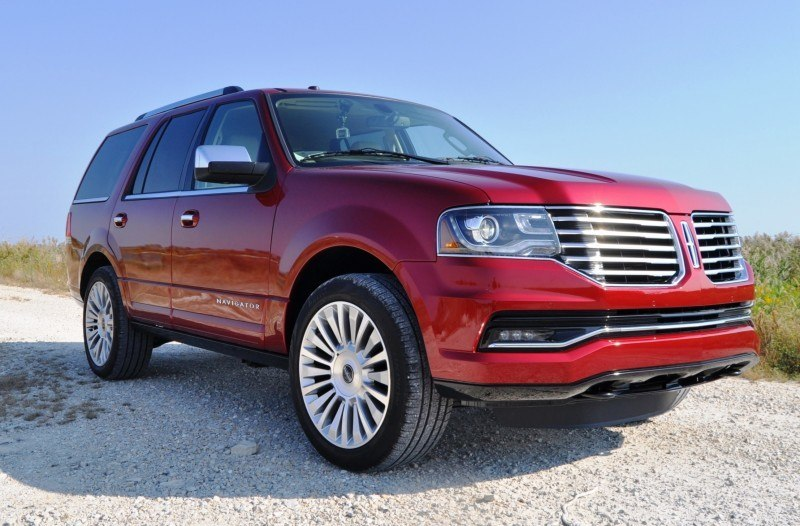 Road Test Review - 2015 Lincoln Navigator Is Totally Transformed By MR Shocks and EcoBoost 14
