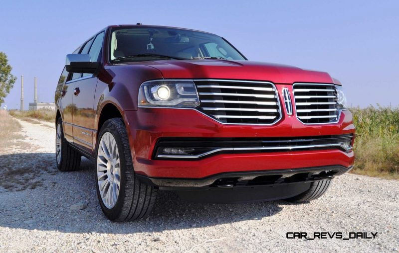 Road Test Review - 2015 Lincoln Navigator Is Totally Transformed By MR Shocks and EcoBoost 15