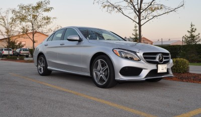 Road Test Review - 2015 Mercedes-Benz C300 4Matic Sport 1
