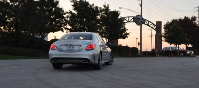 Road Test Review - 2015 Mercedes-Benz C300 4Matic Sport 6