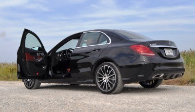 Road Test Review - 2015 Mercedes-Benz C300 4Matic Sport 66