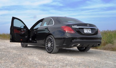 Road Test Review - 2015 Mercedes-Benz C300 4Matic Sport 67