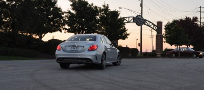 Road Test Review - 2015 Mercedes-Benz C300 4Matic Sport 7