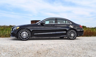 Road Test Review - 2015 Mercedes-Benz C300 4Matic Sport 76
